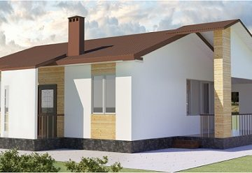 проект дома 66 м2