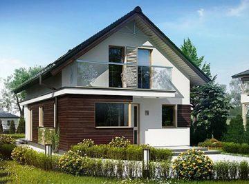 проект дома из СИП панелей 160 м2