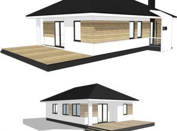 89 м проект дома от ДОБРОПАН