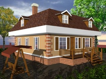 141 м2 проект дома