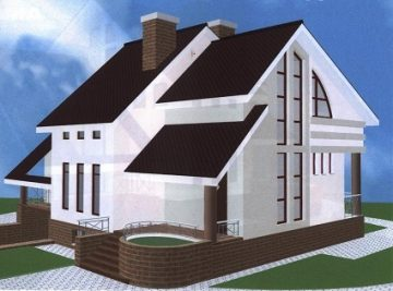 150 м2 проект панельно-каркасного дома