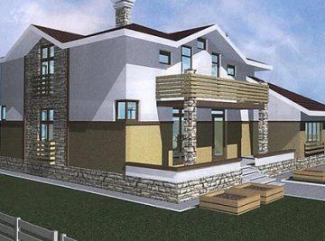 170м2 проект сип дома