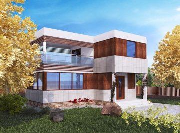 модульный дом 33 м2