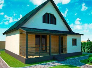 108 м2 дом для круглогодичного проживания