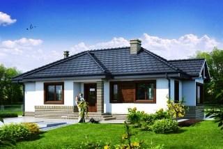 127 м проект дома от ДОБРОПАН