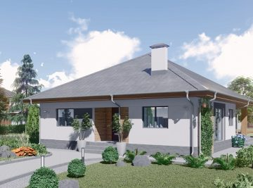 проект дома 94 м2 Седча 1 эт для сайта