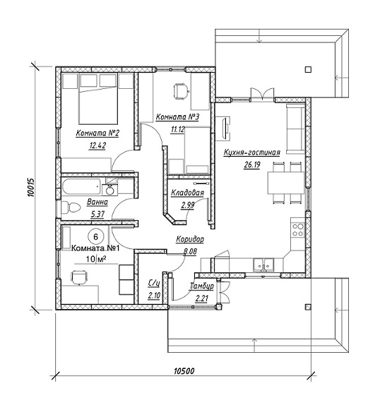 план дома 94 кучкуны