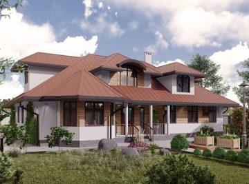проект дома 260 м2 от ДОБРОПАН
