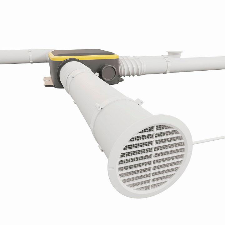 приточно-вытяжная вентиляция в СИП панельном доме