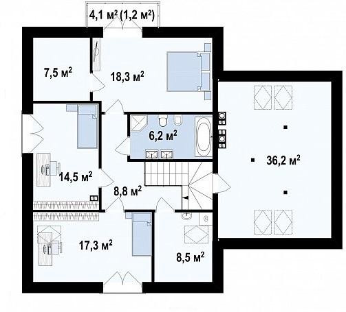 проект 284 манс 2 этаж