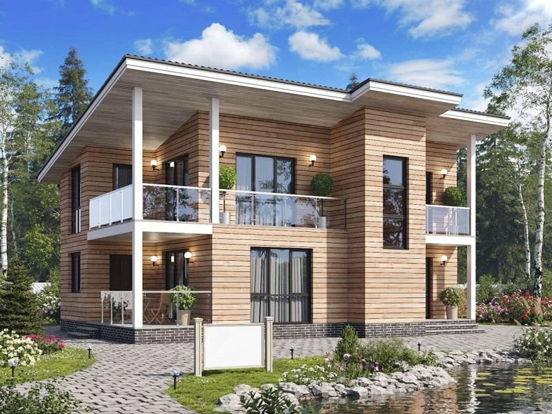 проект дома 156 2 вариант